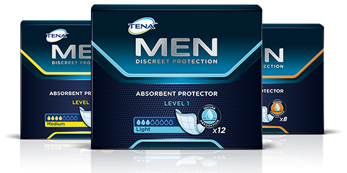 TENA Men products