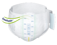TENA Slip Bariatric Super front - incontinence product for clinically obese
