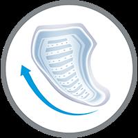 TENA MEN – pidamatuse korral kasutatav side on loodud spetsiaalselt mehe kehavormi järgi.