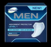 TENA MEN Level 1 imav side - Kindel ja diskreetne imav side meestele kaitseks kergete uriinilekete ja uriinipidamatuse eest