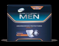 TENA Men Absorbierende Protektoren Level 3 Packungsabbildung mittlere Saugstärke