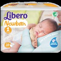 Libero Newborn Size 1 packshot