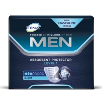 Vložka pre mužov TENA Men Absorbent Protector Level 1, ľahký únik moču, balenie