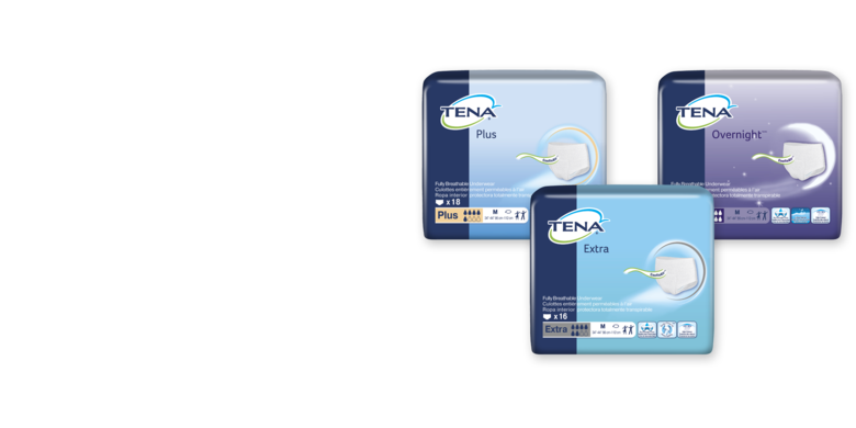 Image of ConfioAir™ TENA Protective Underwear Family - TENA Professional