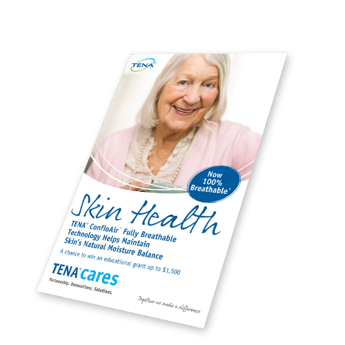Image of Direct Mailer Front Cover - TENA Professionals