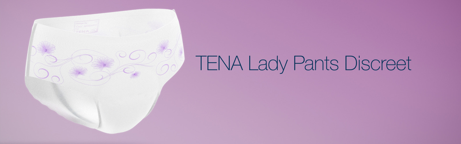 Video om nye TENA Lady Pants Discreet