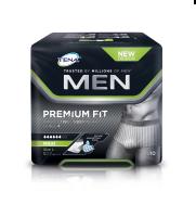 TENA Men Premium Fit Protective Underwear Medium