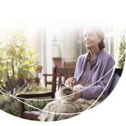 Værdig ældre dame