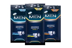 Gratis TENA Men-proefpakket